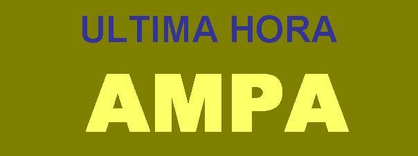 ULTIMA HORA AMPA